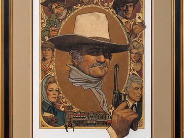 THE SHOOTIST original art up for auction.