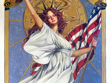 Amsel's Lost Art: America's Bicentennial!