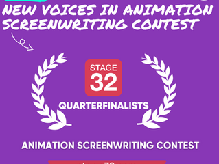 """""""Thaddeus Thackeray"""" makes Stage 32's NEW VOICES IN ANIMATION contest"""
