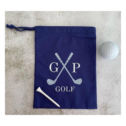 Golf Bag-initials
