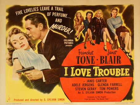 Love Trouble? You'll Find Plenty of It Here... Just Ask Franchot Tone
