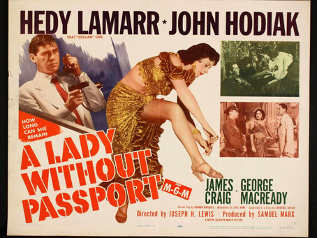 Noirvember 2018, Episode 21: A Lady Without a Passport (1950)