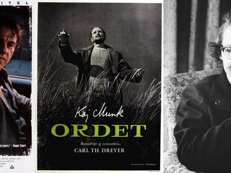 Bad Lieutenant (1992), Ordet (1955), and Flannery O'Connor