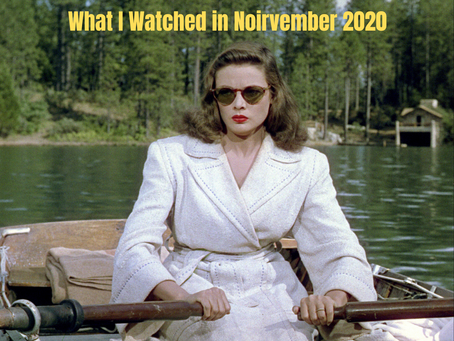 What I Watched in November 2020
