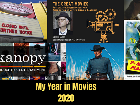 My Year in Movies 2020