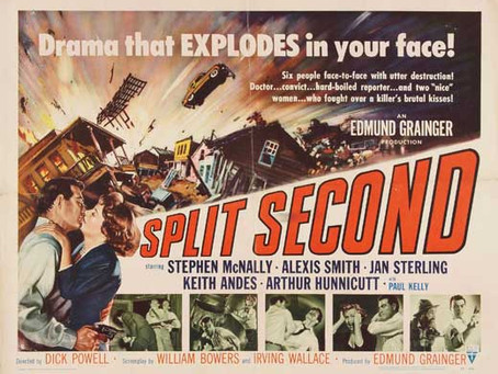 Noirvember 2019: Split Second (1953) Dick Powell