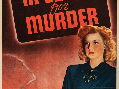 Noirvember 2020, Episode 9: Apology for Murder (1945)