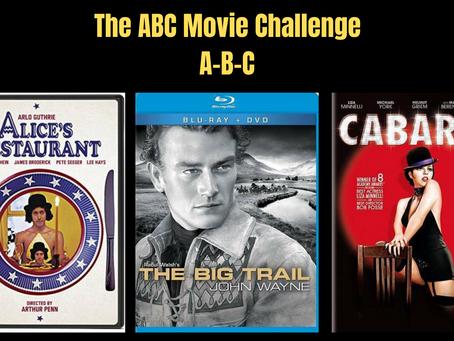 The ABC Movie Challenge: A-B-C