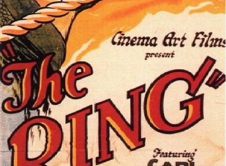 The Alfred Hitchcock Project #6: The Ring (1927)