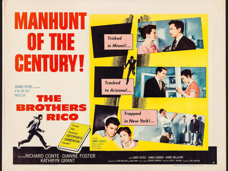 Noirvember 2018, Episode 18: The Brothers Rico (1957)