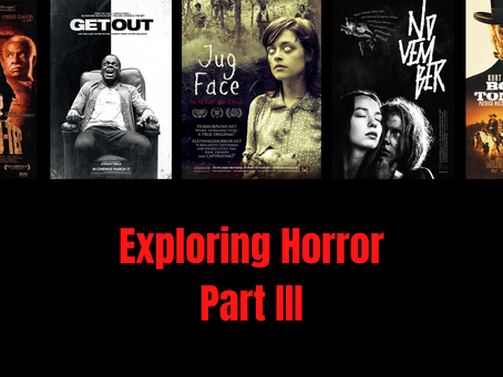 My Personal Journey Through Horror, Part III