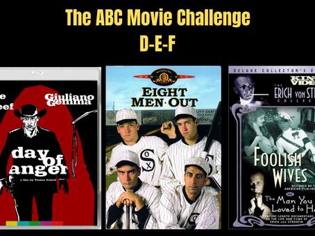 The ABC Movie Challenge: D-E-F