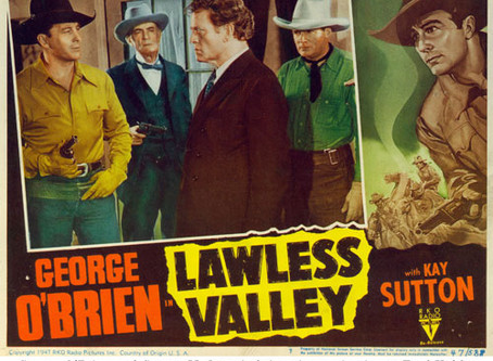 My Introduction to B-Westerns: Lawless Valley (1938) David Howard