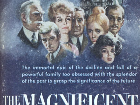Summer Reading Challenge 2018: The Magnificent Ambersons (1918) Booth Tarkington
