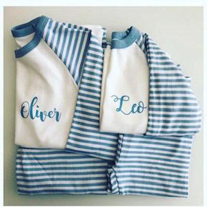 Striped Pyjama Set 2PCS
