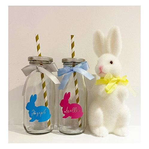 Easter milk bottle