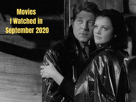 What I Watched in September 2020