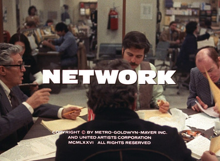 What Were the '70s Trying to Tell Us? Week 1 - Network (1976)