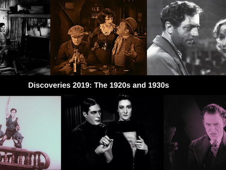The Best Movie Discoveries of 2019: The 1920s and 1930s