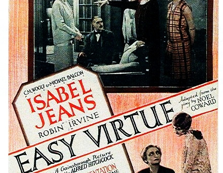 The Alfred Hitchcock Project #5: Easy Virtue (1927)