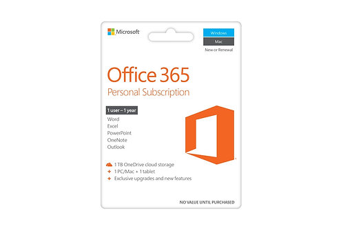 Office 365 Home 5 Device 1 Year Sub