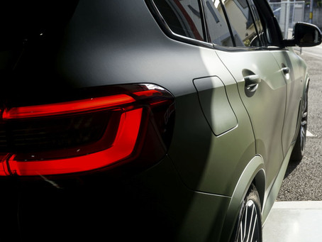 BMW THE X5のフルラッピング①/東京都S様