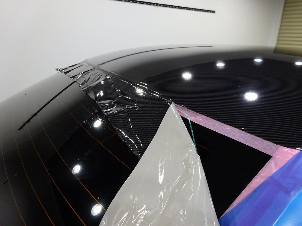 カーボンラッピング 相模原 町田 格安 高品質 カーラッピング専門店 プロテクションフィルム施工