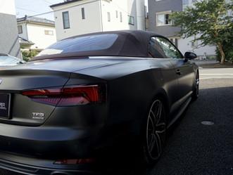 Audi A5 Cabrioletのマットブラックカスタム②/神奈川県相模原市W様 #STEALTH#ステルス#XPEL