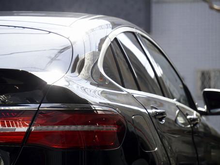 Mercedes-AMG GLC 63s Coupéのウインドーモールとドアミラーにカーラッピング施工/神奈川県藤沢市H様