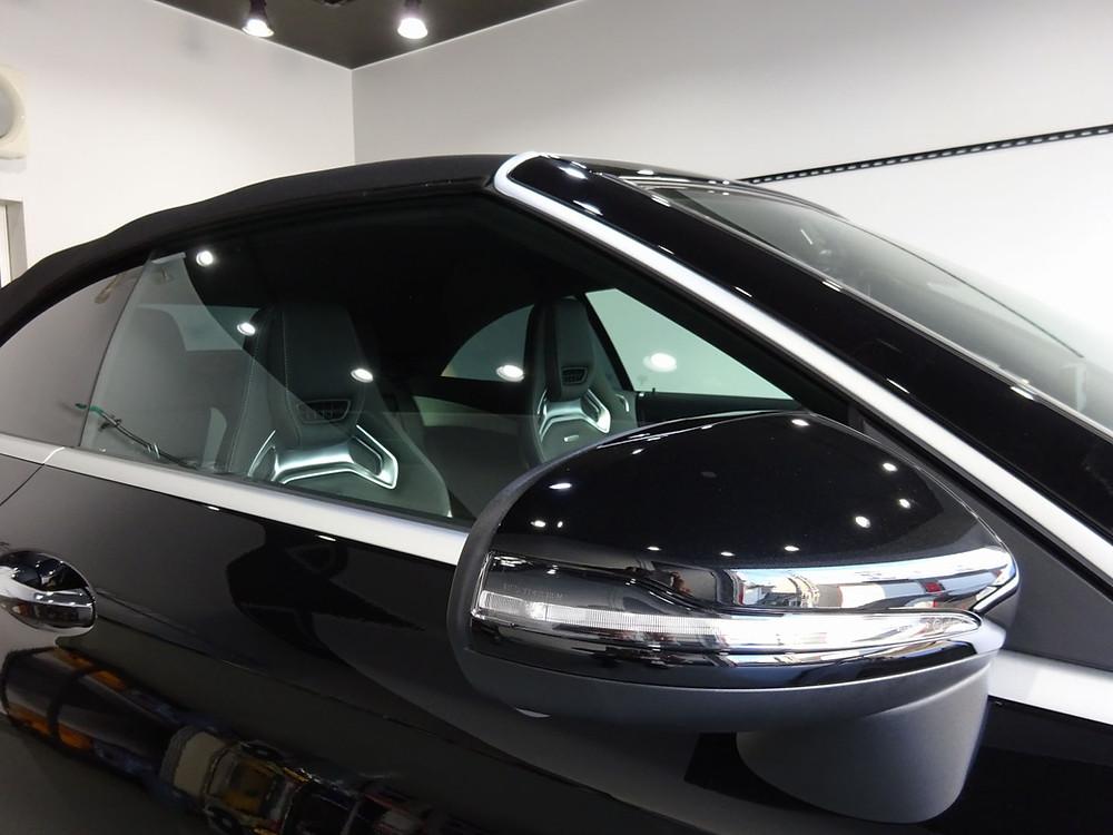カーラッピング専門店 格安 AMG ドアミラー プロテクション