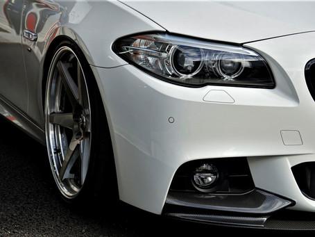BMW3seriesSedanのルーフ、ドアハンドル、メッキパーツにカーラッピング/神奈川県相模原市S様
