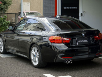 BMW 4SERIES GRAN COPEのヘッドライトにプロテクションフィルム施工/厚木市S様#STEK#ダイノシェード
