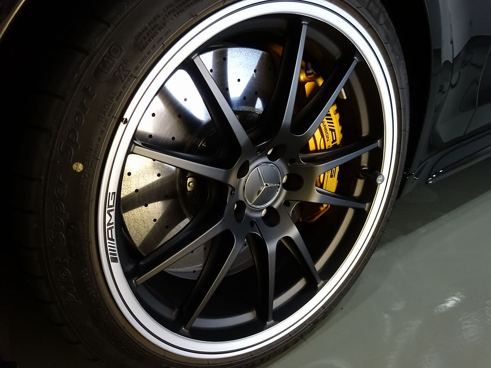 AMG カーボンブレーキローター カーラッピング専門店 格安