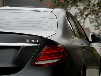 Mercedes-AMG E43のマットフルプロテクションフィルム施工②/東京都世田谷区E様#XPEL#STEALTH#エクスペル#ステルス