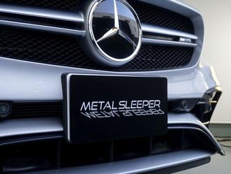 Mercedes-AMG CLA 45のウインドーモールにカーラッピング/神奈川県相模原市N様