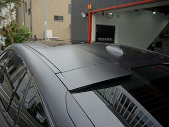 BMW X6 xDrive35d M Sportのマットフルプロテクションフィルム施工②/神奈川県藤沢市T様#XPEL#STEALTH#エクスペル#ステルス