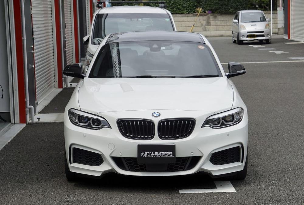 BMWカスタム 他店の再施工 カーラッピング専門店 プロテクションフィルムPPF施工 この度はマツダ3ファストバックのカーラッピングをご依頼いただきありがとうございました、またのご来店お待ちしております。  小さなパーツ、少ない面積でも承ります。カーラッピング、プロテクションフィルムの施工はメタルスリーパーへお気軽にお問合せくださいませ。 252-0231 神奈川県相模原市中央区相模原6-11-13 SAGAMIHARA SIX D-3 MetalSleeper(メタルスリーパー) TEL 042-794-9136  FAX 042-794-9137 MAIL metalsleeper@gmail.com 10:00-19:00(不定休) 出張中で不在のこともございますので、ご来店頂ける場合はメール、又は電話にてお問合せください。