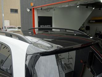 Mercedes-Benz The GLBのルーフレール、ウインドーモール、リップスポイラー、メッキパーツにカーラッピング/ヘッドライト、テールレンズにPPF施工①/神奈川県川崎市A様