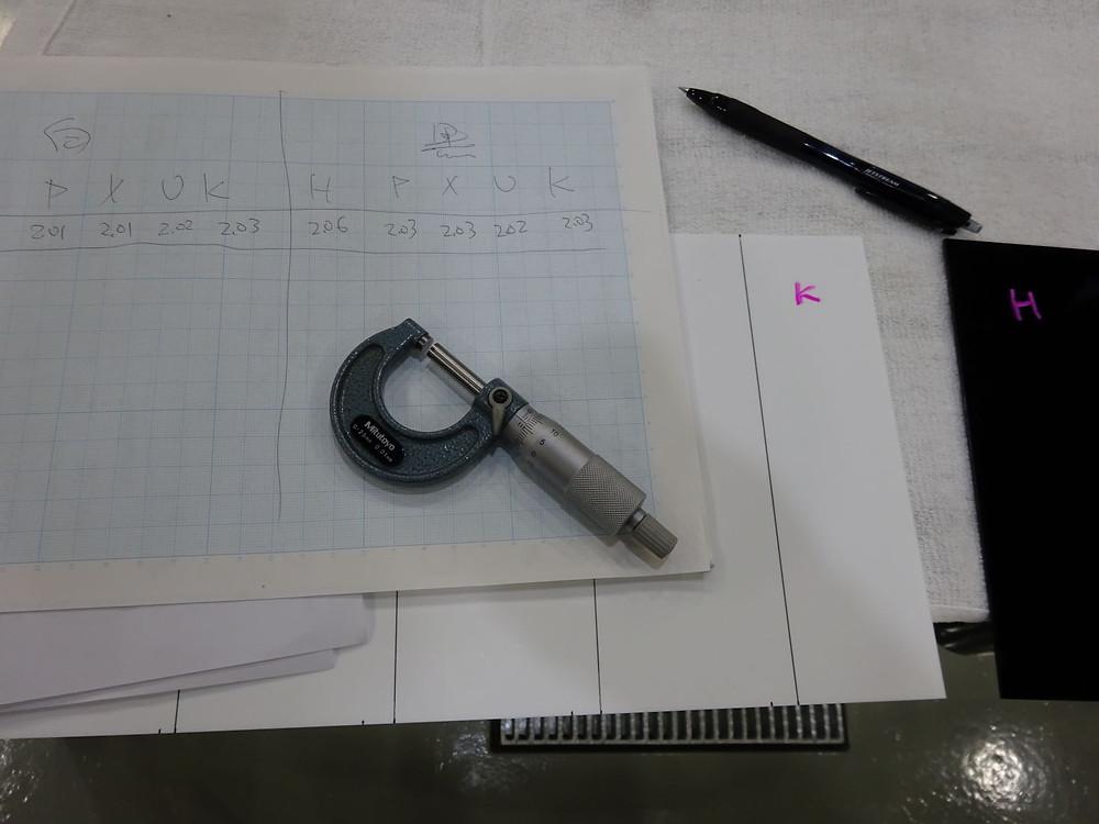 プロテクションフィルム 比較検証 マイクロメーター カーラッピング専門店 格安 相模原 町田