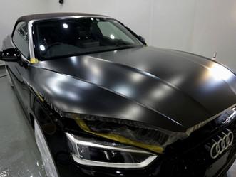 Audi A5 Cabrioletのマットブラックカスタム①/神奈川県相模原市W様 #STEALTH#ステルス#XPEL