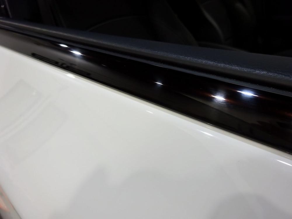 BMW ウインドーモール 格安 研磨