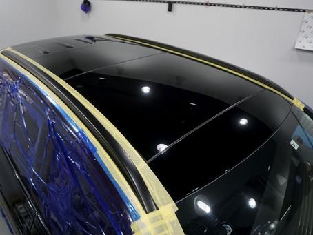 Mercedes-Benz The GLCのルーフレール、リップスポイラー、メッキパーツにカーラッピング/神奈川県相模原市U様
