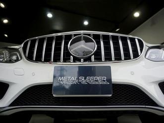 Mercedes-Benz E-Classのドアミラーにカーラッピング/東京都八王子市K様