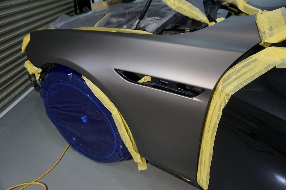 フェンダー ラッピング BMW カーラッピング専門店 プロテクションフィルムPPF施工