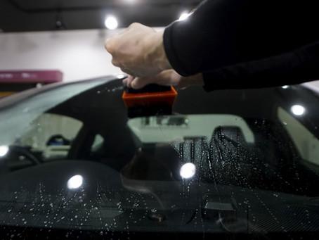 新製品 フロントガラス飛び石防止フィルムのご紹介#Windshield-flex#ウインドウシールドフレックス#STEK#エステック/東京都町田市I様