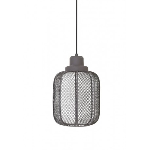 Cement Cage Hanging Lamp