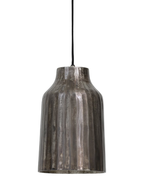 Black Pearl Metal Pendant Light Large