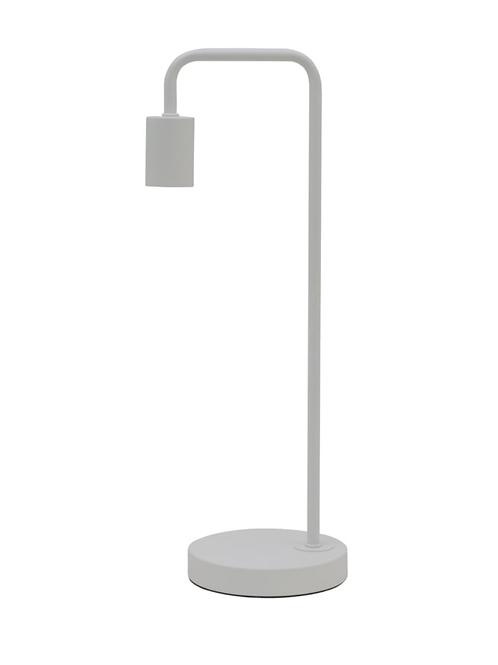 Matt White Table Lamp