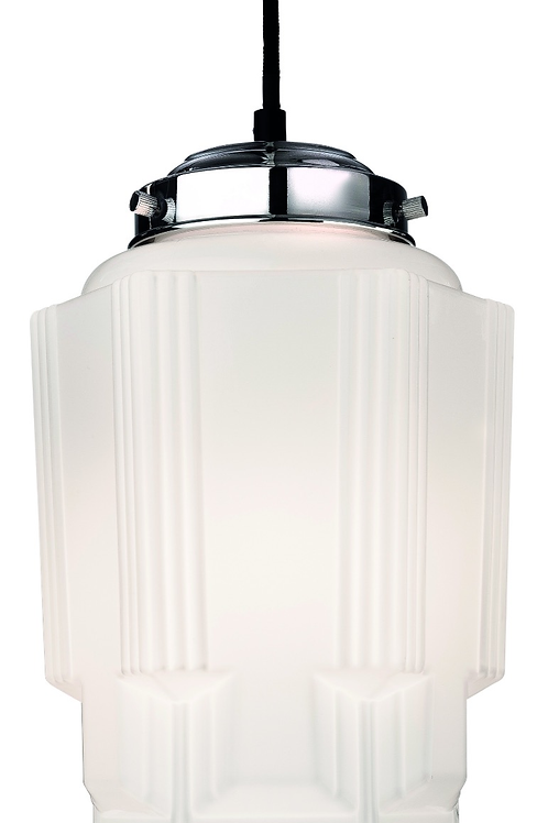 White Ceramic Pendant Light