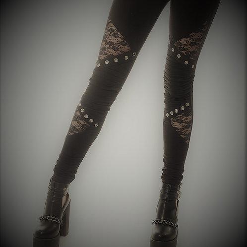 Rev Leggings - BLACK